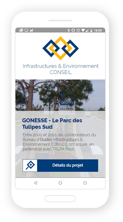 Version mobile, responsive IE-Conseil - Site Internet