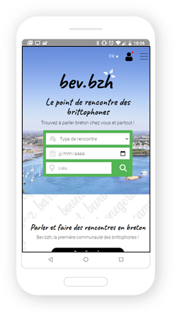 Version mobile, responsive BEV - Site Internet