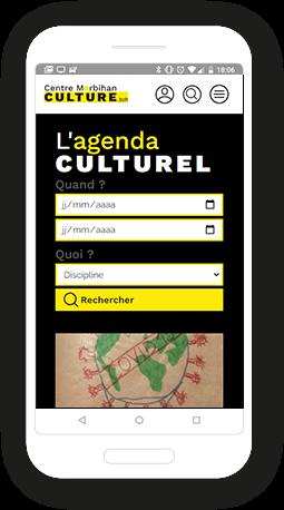 Version mobile, responsive Centre Morbihan Communauté - Site Internet