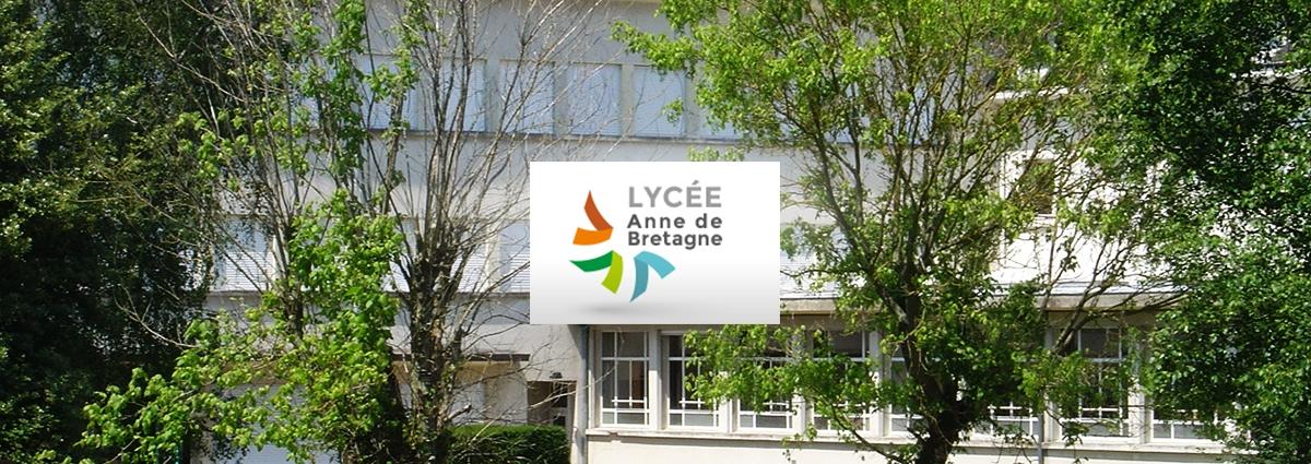 Présentation Lycées Anne de Bretagne & Kerlebost - Site Internet - Bretagne, Morbihan, Vannes (56)