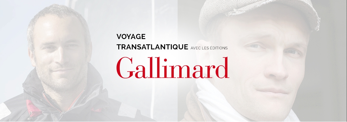 Présentation Voyage Transatlantique Gallimard - Site Internet - Bretagne, Morbihan, Vannes (56)