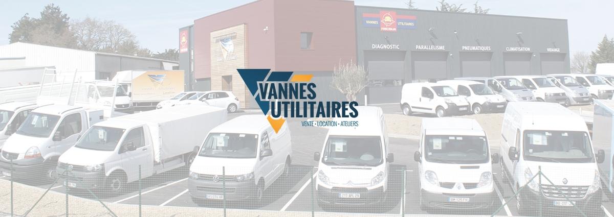 Présentation Vannes Utilitaires - Site Internet - Bretagne, Morbihan, Vannes (56)