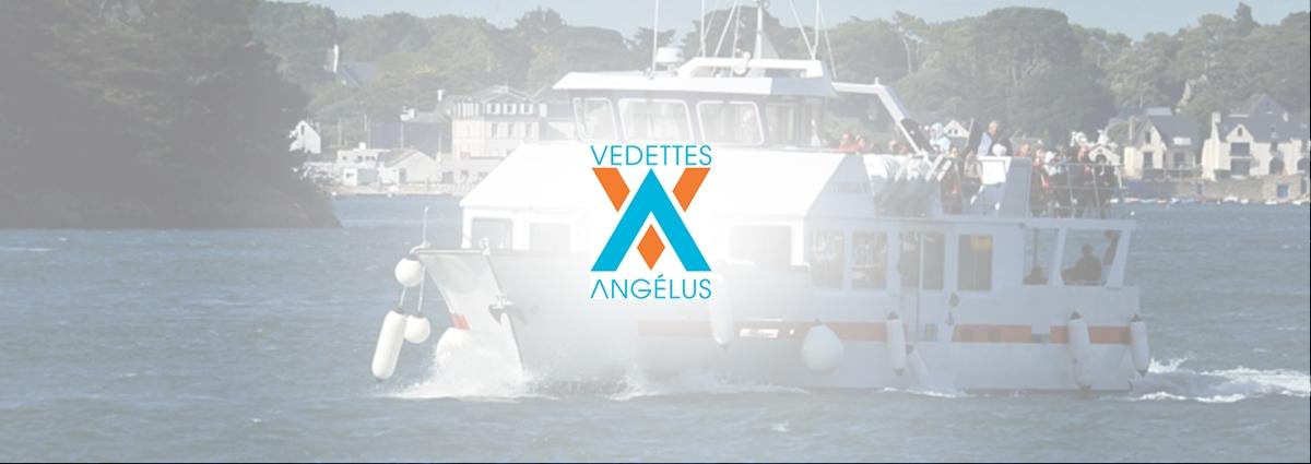 Présentation Vedettes l'Angelus - Site Internet - Bretagne, Morbihan, Vannes (56)