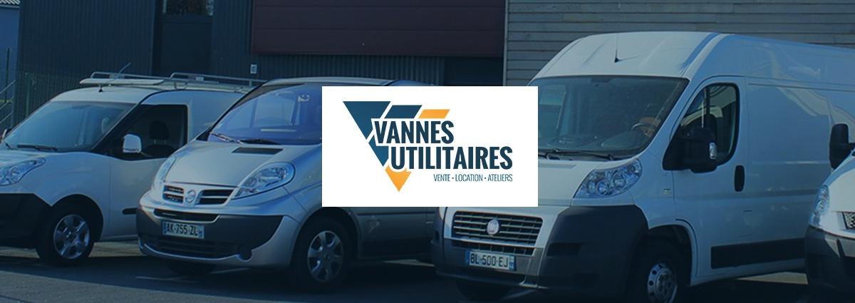 Présentation Vannes Utilitaires Location - Site Internet - Bretagne, Morbihan, Vannes (56)