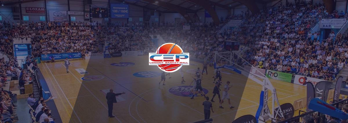 Présentation CEP Lorient Basket Ball - Site Internet - Bretagne, Morbihan, Vannes (56)