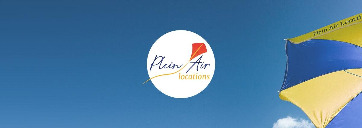 Présentation Plein Air Locations - Site Internet - Bretagne, Morbihan, Vannes (56)