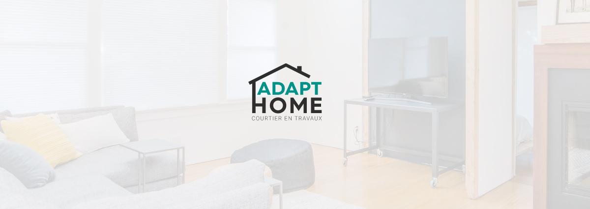 Présentation Adapt Home - Site Internet - Bretagne, Morbihan, Vannes (56)