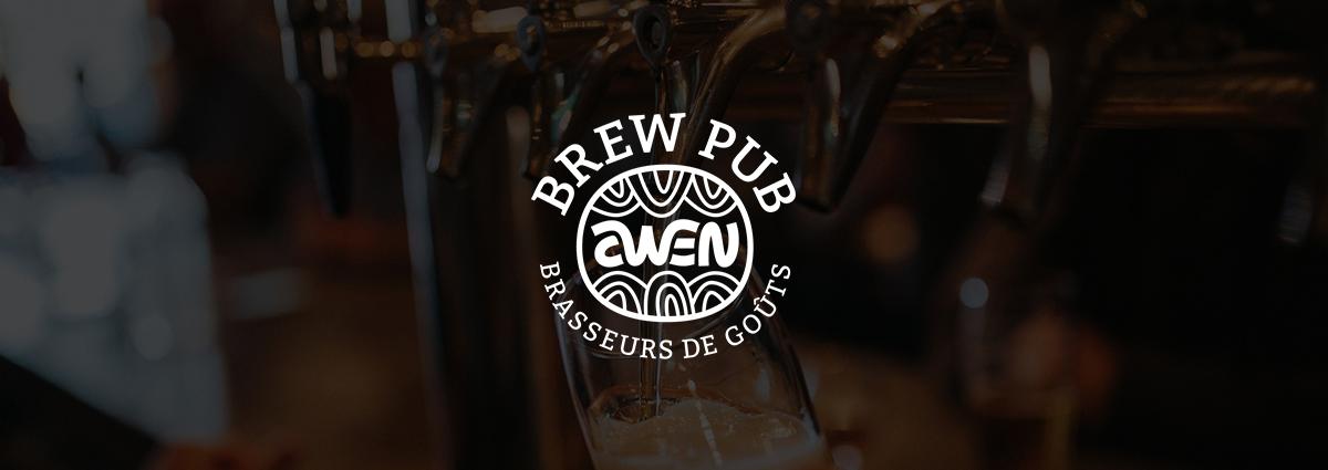 Présentation Brasserie Awen - Site Internet - Bretagne, Morbihan, Vannes (56)