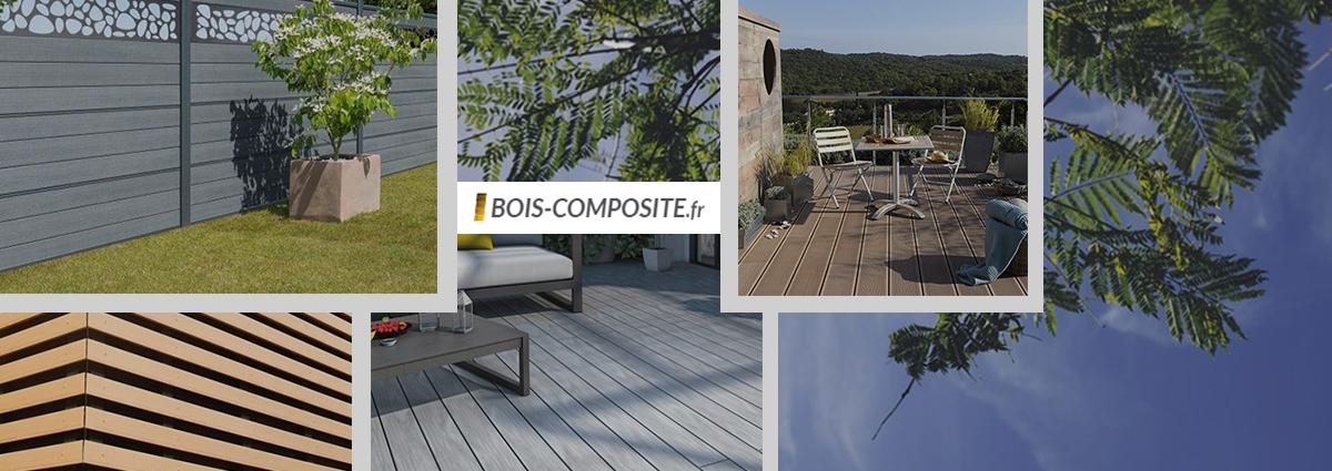 Présentation Bois Composite - Site Internet - Bretagne, Morbihan, Vannes (56)