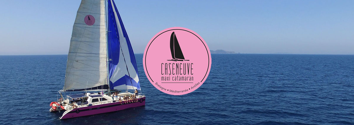Présentation Caseneuve Maxi Catamaran - Site Internet - Bretagne, Morbihan, Vannes (56)