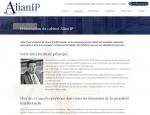 Page À propos du site Internet Alian IP dépôt de brevet à Vannes dans le Morbihan 56