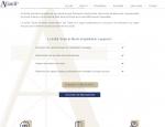 Page forfait du site Internet Alian IP dépôt de brevet à Vannes dans le Morbihan 56