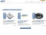 Page actualités du site Internet Aserti Group à Vannes dans le Morbihan 56