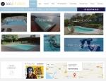 Page piscine du site Bleu Atlantic SPA et Piscines à Vannes dans le Morbihan 56