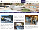 Page présentation du site Bleu Atlantic SPA et Piscines à Vannes dans le Morbihan 56