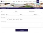 Page demande de devis du site Bleu Atlantic SPA et Piscines à Vannes dans le Morbihan 56