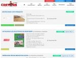 Page promotions du site Castors de l'Ouest, promotions et achats groupés à Vannes dans le Morbihan 56
