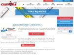 Page adhésion du site Castors de l'Ouest, promotions et achats groupés à Vannes dans le Morbihan 56