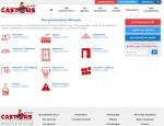 Page partenaires du site Castors de l'Ouest, promotions et achats groupés à Vannes dans le Morbihan 56