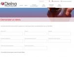 Page demande de devis du site Dielna à Vannes dans le Morbihan 56