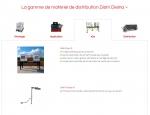 Page produits du site Dielna à Vannes dans le Morbihan 56