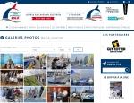 Page médiathèque du site Internet Douarnenez Horta, course de voile à Vannes dans le Morbihan (56)