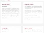Page liste de textes du site Internet Voyage Transatlantique Gallimard à Vannes dans le Morbihan 56
