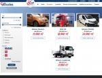 Page véhicules du site Internet Groupe Duclos, poids lourds et utilitaires à Vannes dans le Morbihan 56