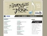 Page contacts du site Internet Hivernales du Jazz à Vannes dans le Morbihan 56