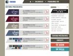 Page archives du site Internet Hivernales du Jazz à Vannes dans le Morbihan 56