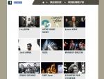 Page artistes du site Internet Hivernales du Jazz à Vannes dans le Morbihan 56