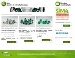 Page gammes de produits du site Internet Hydea, composants hydrauliques à Vannes dans le Morbihan 56