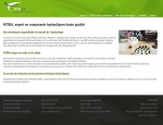 Page de contenu du site Internet Hydea, composants hydrauliques à Vannes dans le Morbihan 56