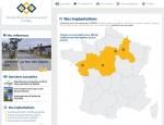 Page implantations du site Internet IE-Conseil à Vannes dans le Morbihan 56