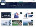 Page calendrier des courses du site Internet Team Lorina Golfe Morbihan à Vannes dans le Morbihan 56