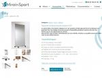 Page produit du site Internet Miroir & Sport à Vannes dans le Morbihan 56