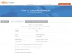 Page inscription du site Internet Morbi'embark à Vannes dans le Morbihan 56