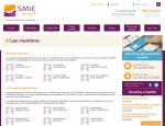 Page membres du site Internet Mutuelles SMIE à Vannes dans le Morbihan 56