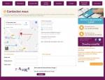 Page infos pratiques du site Internet Mutuelles SMIE à Vannes dans le Morbihan 56