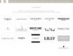 Page marques du site Internet Nicole Couture à Vannes dans le Morbihan 56