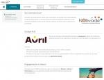 Page qui sommes-nous du site Internet Nolivade à Vannes dans le Morbihan 56