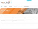 Page contact du site Internet Nolivade à Vannes dans le Morbihan 56