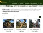 Page catalogue du site Oliviers Centenaires à Vannes dans le Morbihan 56