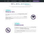 Page avanatages du site Internet Ouirésa, Solution web de réservation à Vannes dans le Morbihan 56