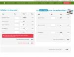 Page billeterie du site Internet ParcOfolies - Parc de jeux à Vannes dans le Morbihan 56