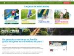 Page jeux du site Internet ParcOfolies - Parc de jeux à Vannes dans le Morbihan 56