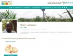 Page producteur du site Internet Ressources Bio importateur de fruits séchés à Vannes dans le Morbihan 56