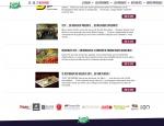 Page actualités du site Internet Salon de la Gastronomie Vannes (56)