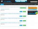 Page recrutement du site Internet Techinter à Vannes dans le Morbihan 56