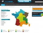 Page implantations du site Internet Techinter à Vannes dans le Morbihan 56
